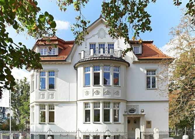 Weiterbildung in Leipziger Villa