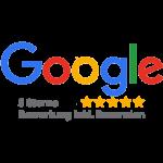 Danke für alle Sterne-Bewertungen bei Google!