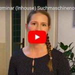 Video: Teilnehmer-Meinung zu SEO-Seminar